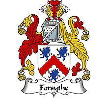 Forsythe Coat of Arms / Forsythe Family Crest Photographic Print