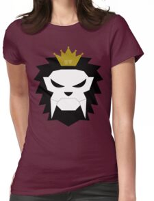 Sabre-toothed King Lion Skull - MulloIV Womens Fitted T-Shirt