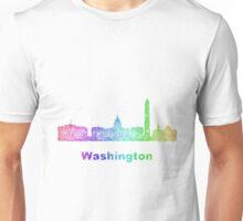 Rainbow Washington skyline Unisex T-Shirt