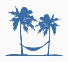 Hammock sleeping palms on the beach sun sea T-Shirt