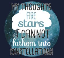 My Thoughts Are Stars Kids Tee