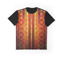 Orange and yellow light streaks pattern Graphic T-Shirt
