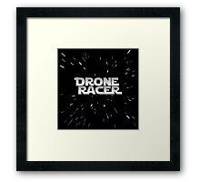 Drone Racer Starfield Framed Print