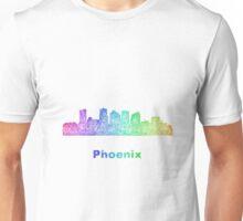 Rainbow Phoenix skyline Unisex T-Shirt