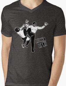 LUCHADOR 1026 Mens V-Neck T-Shirt