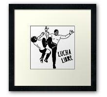 LUCHADOR 1026 Framed Print