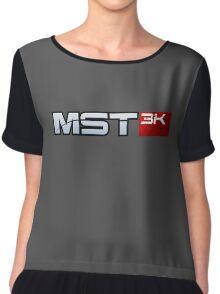 MST3K - Mass Effect Chiffon Top