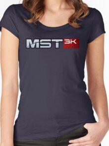 MST3K - Mass Effect Women's Fitted Scoop T-Shirt