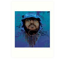 Schoolboy Q Illustration. Art Print