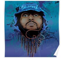Schoolboy Q Illustration. Poster