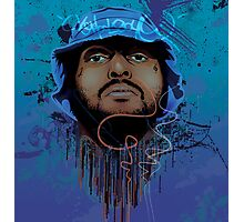 Schoolboy Q Illustration. Photographic Print