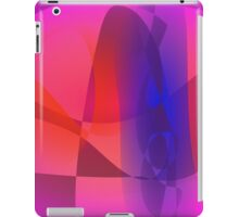 Pink and Blue Abstract World iPad Case/Skin