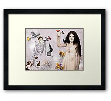 16 and pregnant  Framed Print