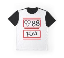 EXO K KAI Graphic T-Shirt