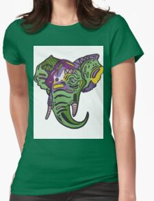 elephant goods Womens Fitted T-Shirt