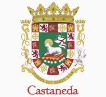 Castaneda Shield of Puerto Rico One Piece - Short Sleeve