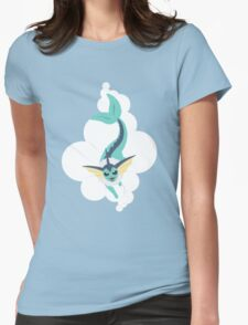 Cloudy with a chance of Showers Womens Fitted T-Shirt