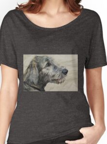 Irish Wolfhound Puppy Women's Relaxed Fit T-Shirt