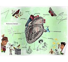 Parts of the heart Poster