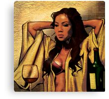 Jhene Aiko by Skillmatik! Canvas Print