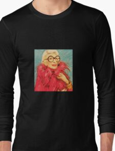 Iris Apfel Long Sleeve T-Shirt