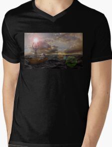 He Who Dared To Care Mens V-Neck T-Shirt