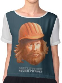 Maelstrom - Never Forget - Construction Worker Chiffon Top
