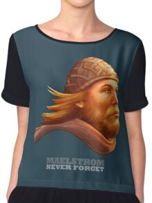 Maelstrom - Never Forget - Viking Chiffon Top