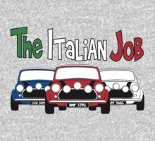Italian Job Mini One Piece - Long Sleeve