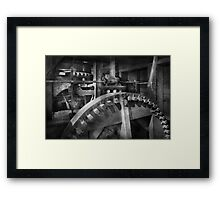 Steampunk - Runs like clockwork Framed Print