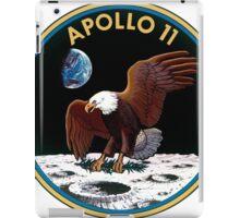 Apollo 11 Logo Old Logo Badge iPad Case/Skin