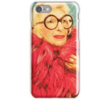 Iris Apfel iPhone Case/Skin