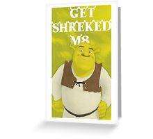 Shrek Greeting Card