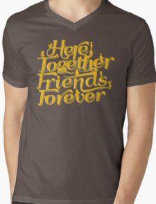 Here Together, Friends Forever Mens V-Neck T-Shirt