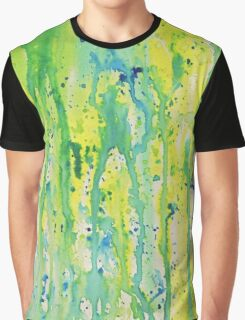 Watercolor Abstract Graphic T-Shirt