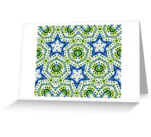 Chaos in Stars Greeting Card