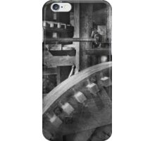 Steampunk - Runs like clockwork iPhone Case/Skin