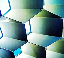 Fed Square Abstract by Tleighsworld