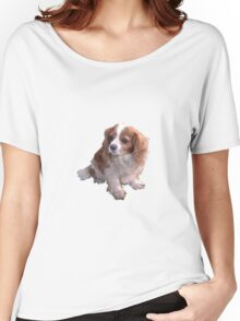Cute King Charles Spaniel Women's Relaxed Fit T-Shirt