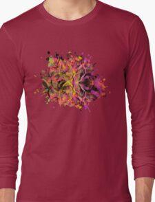 Butterfly Garden Long Sleeve T-Shirt