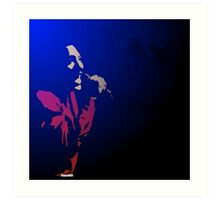 Otis Blue Art Print