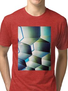 Fed Square Abstract Tri-blend T-Shirt
