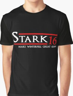 House Stark - The Starks - Make Winterfell Great Again Graphic T-Shirt