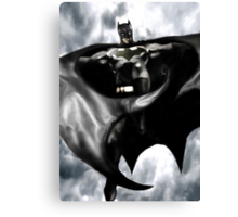 Batman, From the skies Canvas Print