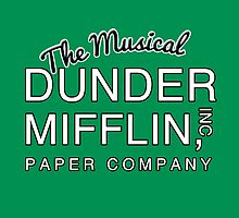 Dunder Mifflin, Inc (The Musical) NOW IN WHITE by Harry James Grout