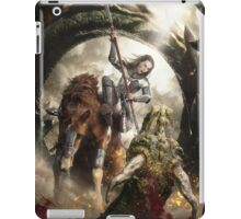 Saint Georgine and the Dragon iPad Case/Skin