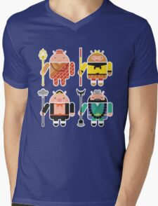Droid Journey to the West Mens V-Neck T-Shirt