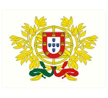 Portugal Coat of Arms Art Print
