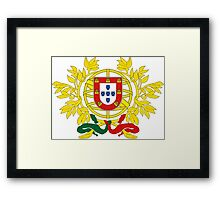 Portugal Coat of Arms Framed Print