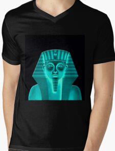 Egyptian King Mens V-Neck T-Shirt